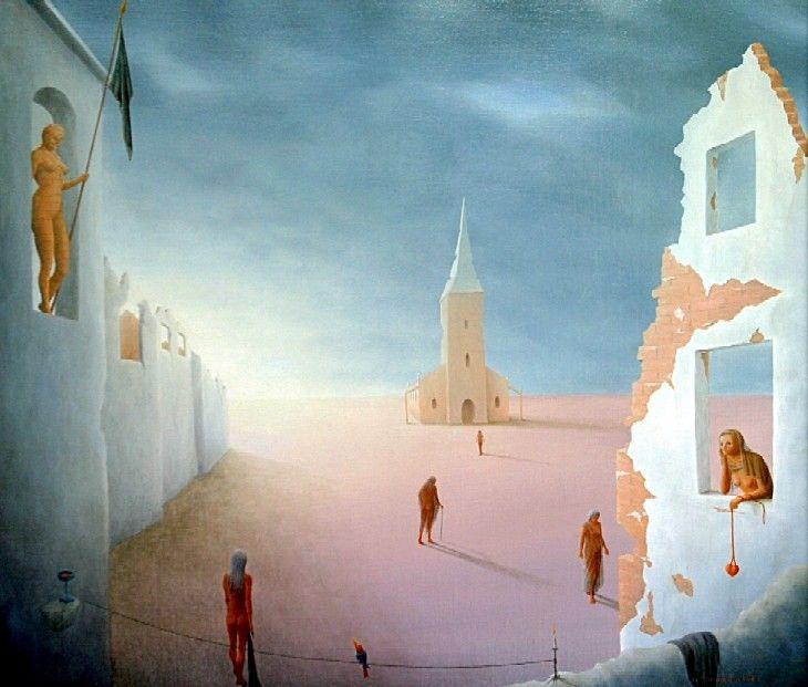 Exposition du peintre Hervé Stiénon du Pré dès le 26 avril à Molenbeek-Saint-Jean »
